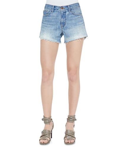 Carly Reflection Denim Shorts