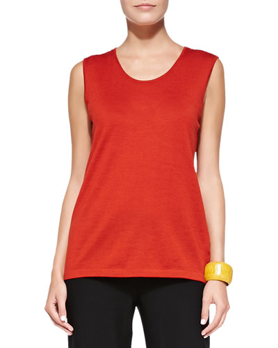 Merino Jersey Muscle Tee, Women's