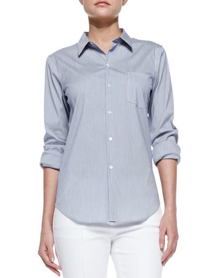 70d99af65b0aa Theory Perfect Poplin Button-Down Shirt