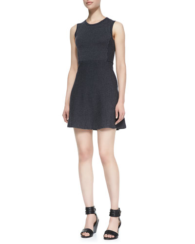 Randria Evian Pinstripe Dress