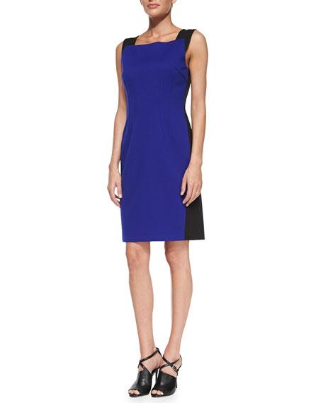 d489ea4027d T Tahari Torrence Sleeveless Colorblock Sheath Dress