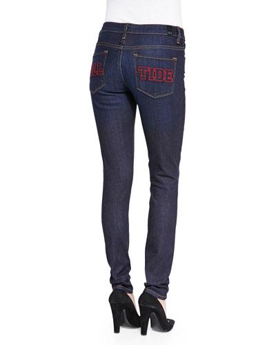Alabama?? Roll Tide Branded Skinny Jeans, Blue