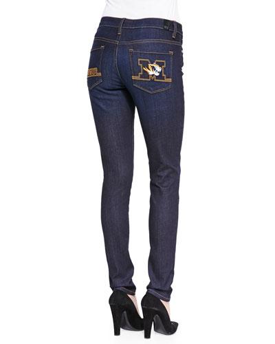 Mizzou?? Branded Skinny Jeans, Blue