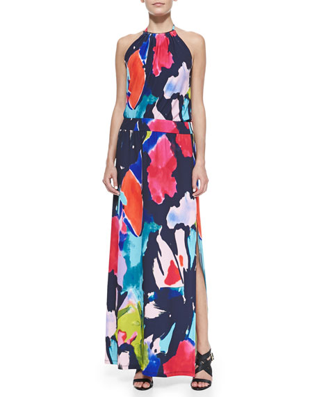 13df88677dd Trina Turk Shirley Jersey Halter Maxi Dress