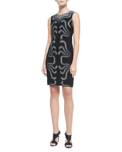 Stagewave Sleeveless Sheath Dress