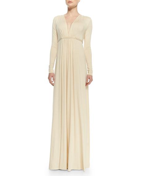 08abbff0ef Rachel Pally Long-Sleeve Jersey Maxi Caftan Dress