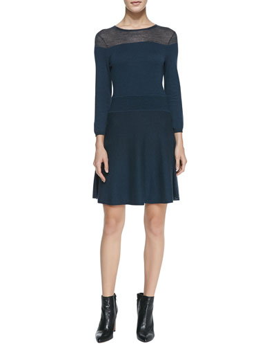 Holly Knit Crewneck Dress
