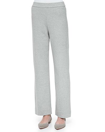 Full-Length Jog Pants, Gray Heather