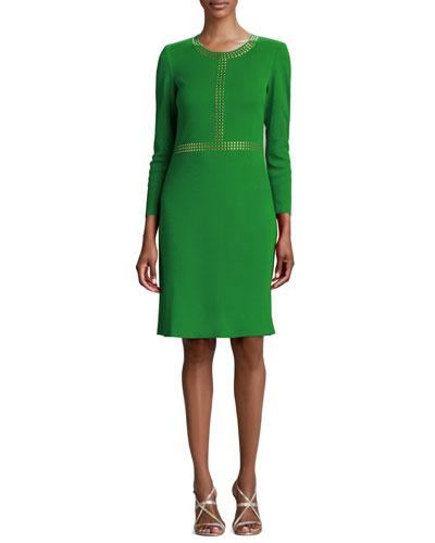 Golden-Studded Dress, Women's