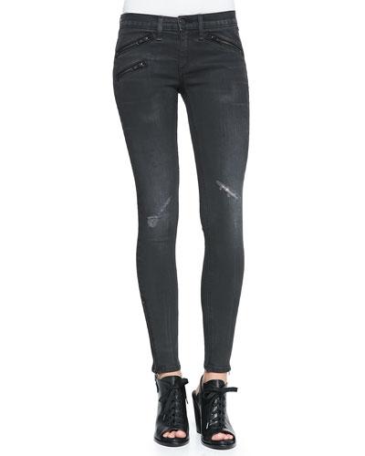 RBW 23 Distressed Skinny Jeans, Blackthorne