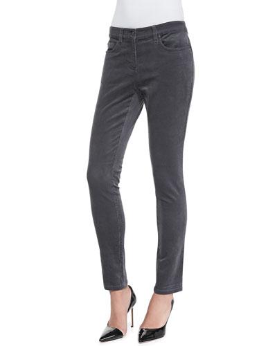 Corduroy Skinny Stretch Jeans, Women's