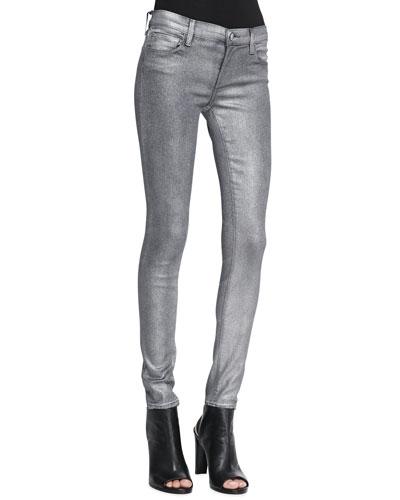 910 Low-Rise Skinny-Leg Jeans