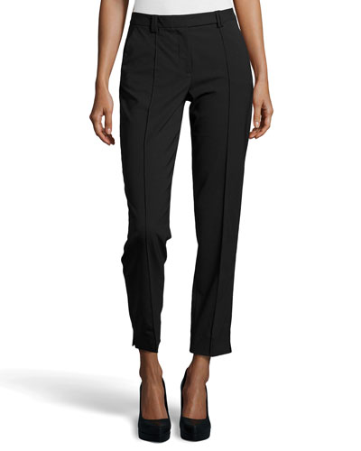 Skinny Fit Tailored Suiting Pants, Black
