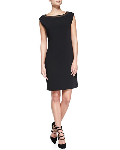 Landry Cap-Sleeve Dress