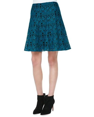 I Spy A-Line Lace Skirt