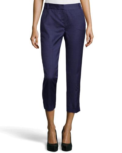 Georginne Woven Crop Pants, New Denim