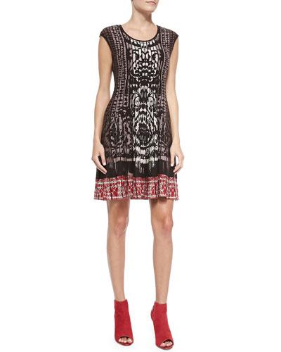 Rise & Set Twirl Dress
