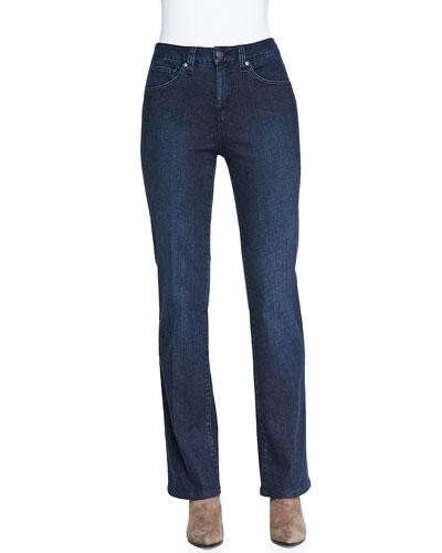 Jillian Gotham Modified Boot-Cut Jeans with Tummy Panel