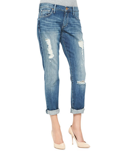Audrey Relaxed Distressed Jeans, Stoney Point