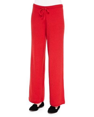 Cashmere Drawstring Pants