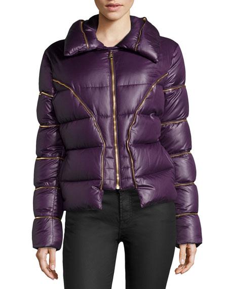 selezione premium 80fe2 aba92 Giubbotto Piumino Zippered Puffer Jacket