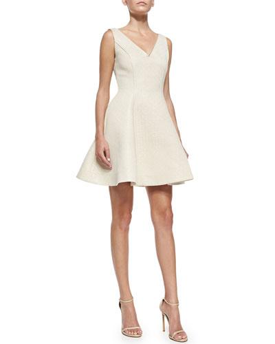 Veronica Sleeveless Dress W/ Back Bows