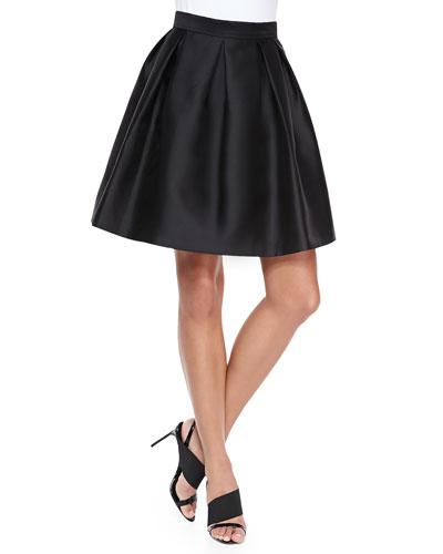 Quinn Box-Pleated Skirt