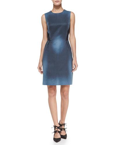 Holly Sleeveless Printed Sheath Dress