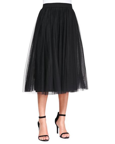 de4c42e31f401 Bailey 44 Shadow Waltz Shimmery Tulle Skirt