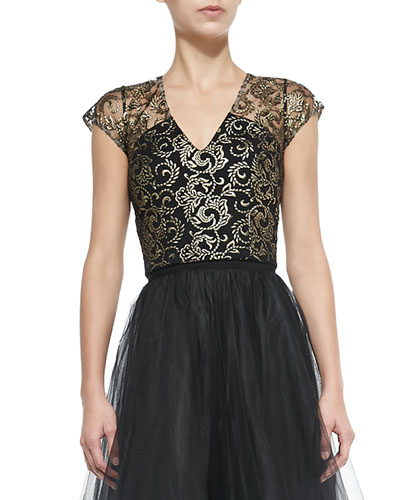 Adore Sleeveless Lace Top