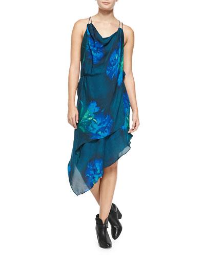 Love Me Long Time Silk Dress