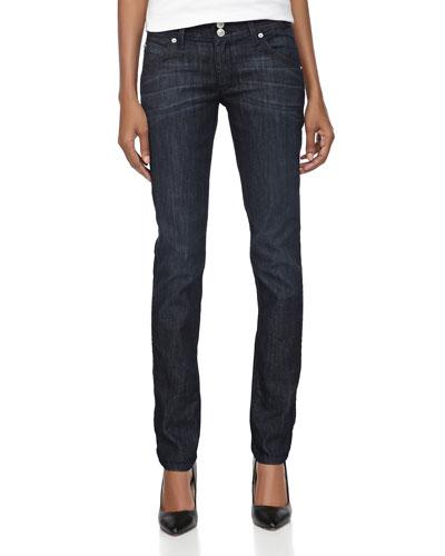 Hudson Skinny Stretch Jeans, Moonlight
