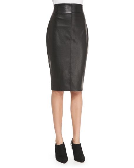 4d556418412 Bailey 44 High-Waist Faux-Leather Pencil Skirt