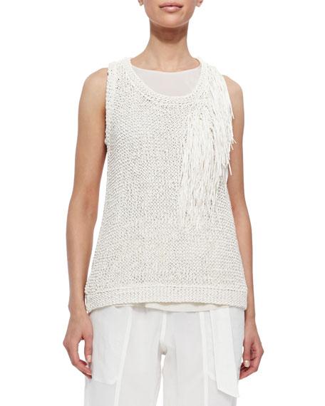 Brunello Cucinelli Sleeveless Knit Top Outlet Visit Cheap Wholesale Outlet Shop For LlnQpQt
