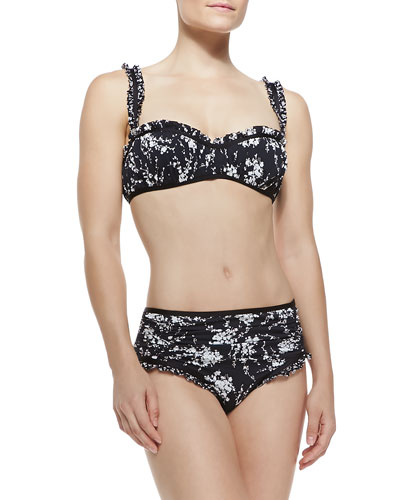 Floral-Print Underwire Two-Piece Bikini