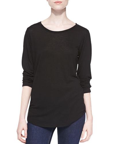 Long-Sleeve Jersey Top