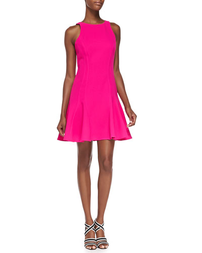 Jeri Sleeveless Fit-and-Flare Dress