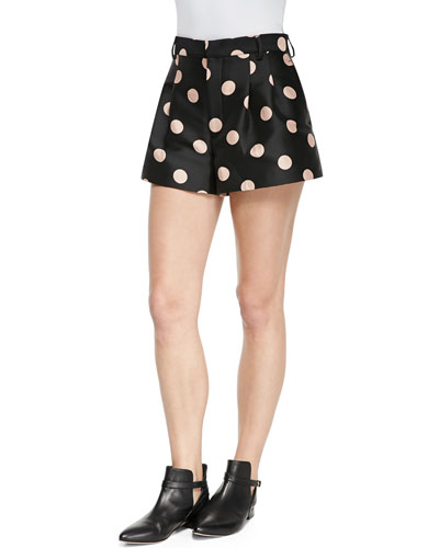 Macro Polka Dot Shorts