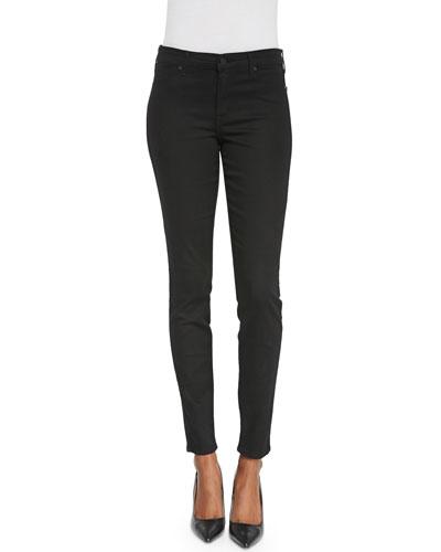 Joy High-Rise Legging Jeans, Black