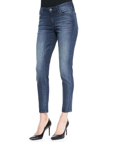 Wisdom Skinny Ankle Jeans, Mills