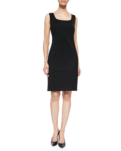 Carol Sleeveless Sheath Dress