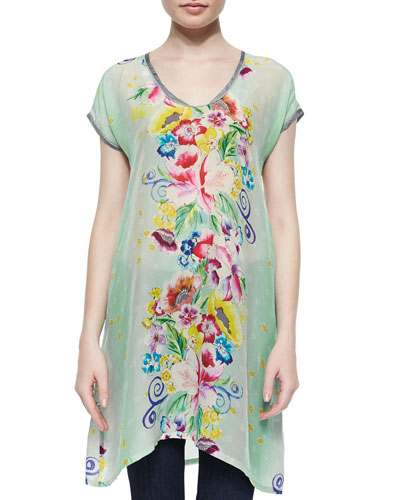 Milla Long Printed Tunic