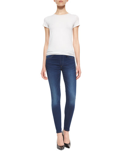 Runway Legging in High Tide Wash
