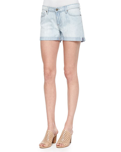 Sawyer Light-Wash Denim Shorts