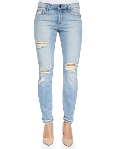 Sylvie Rolled Ankle Skinny Jeans