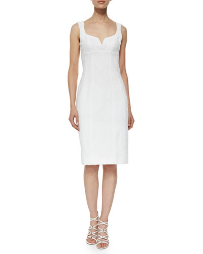 Heat Up Sleeveless Sheath Dress