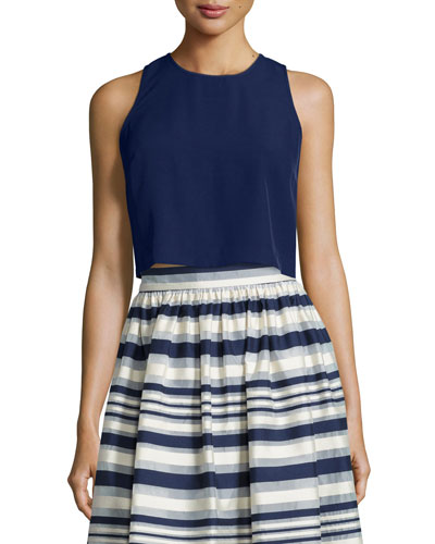 Quinne Sleeveless Crop Top