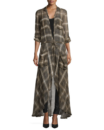 The Big Heat Long Trenchcoat, Military Multi