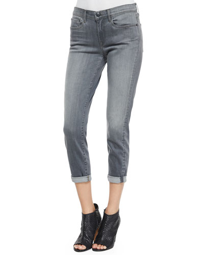 Mason Relaxed-Fit Denim Jeans, Rosewood