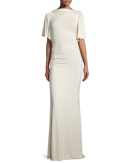 Rachel Pally Reanna Drama-Sleeve Long Column Dress, Plus Size